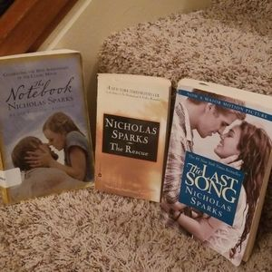 Other - 3 Paperback Books by Nicholas Sparks